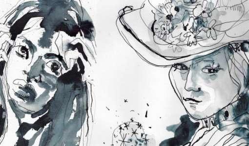 Portraits in Tusche für Fortgeschrittene
