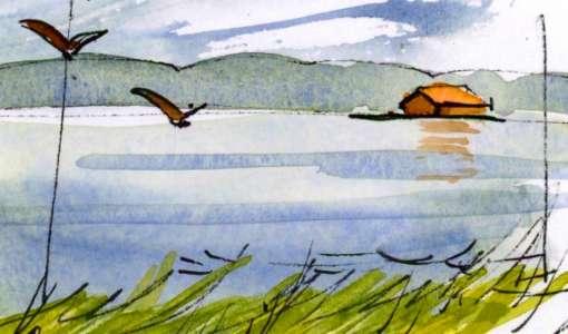 Wasser-Landschaften sketchen - Kompaktworkshop